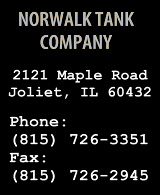 Norwalk Tank Company in Joliet Illinois, contact information